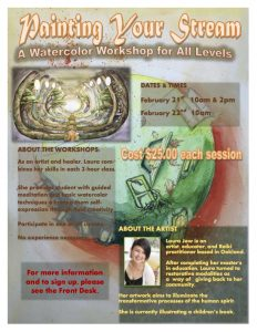 Painting Your Stream: A watercolor workshop for all levels @ Wilbur Hotsprings